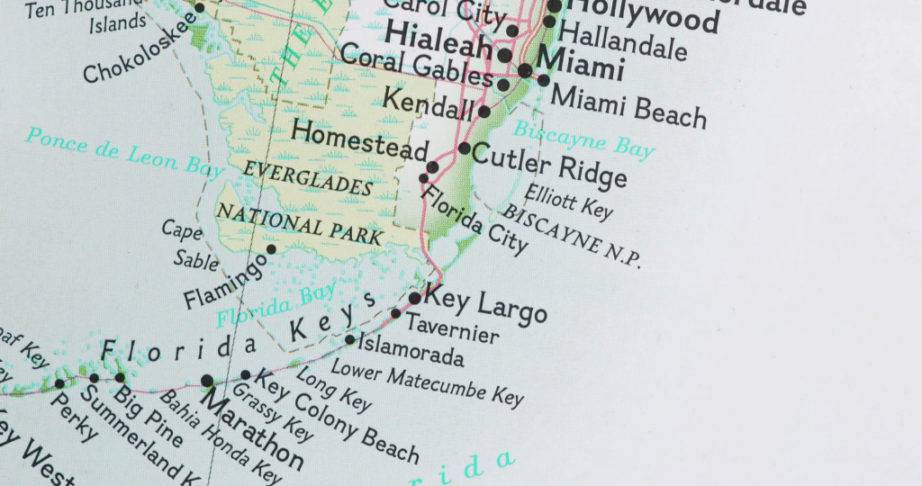 Map Of Florida Coast 1 Stock Video Footage - Storyblocks Video - Map Of Florida Beaches