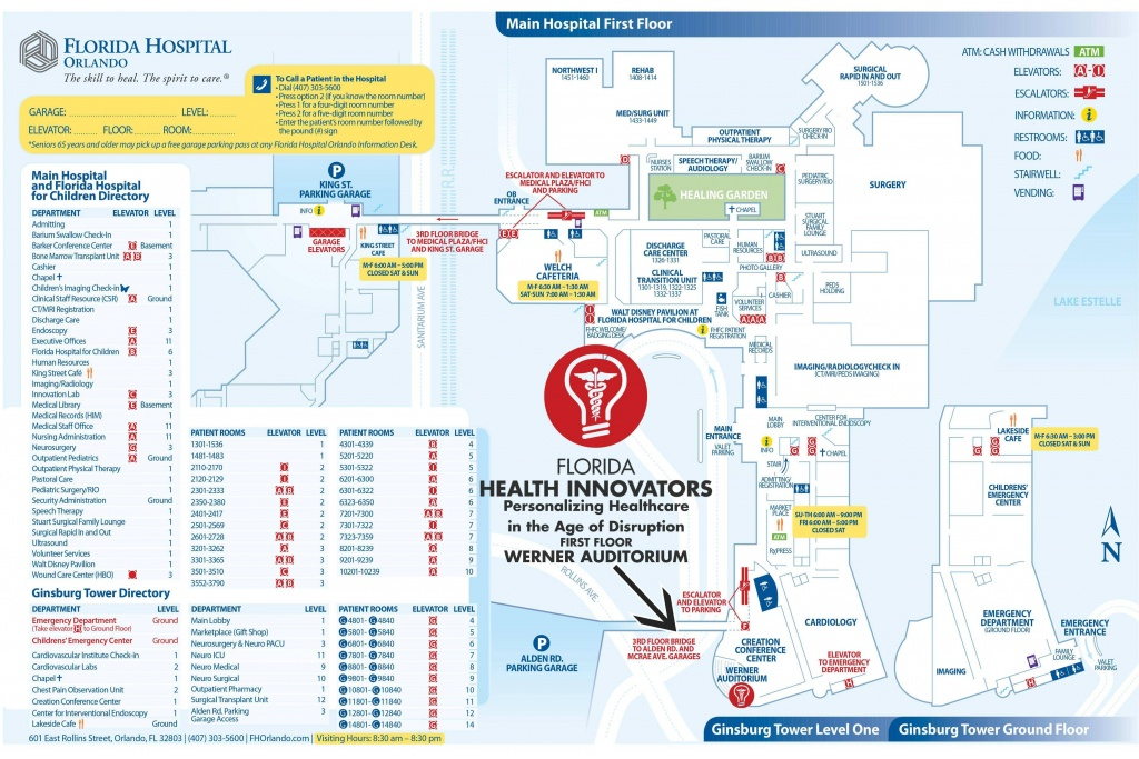 Map Of Florida Hospital Orlando | Download Them And Print - Florida Hospital South Map