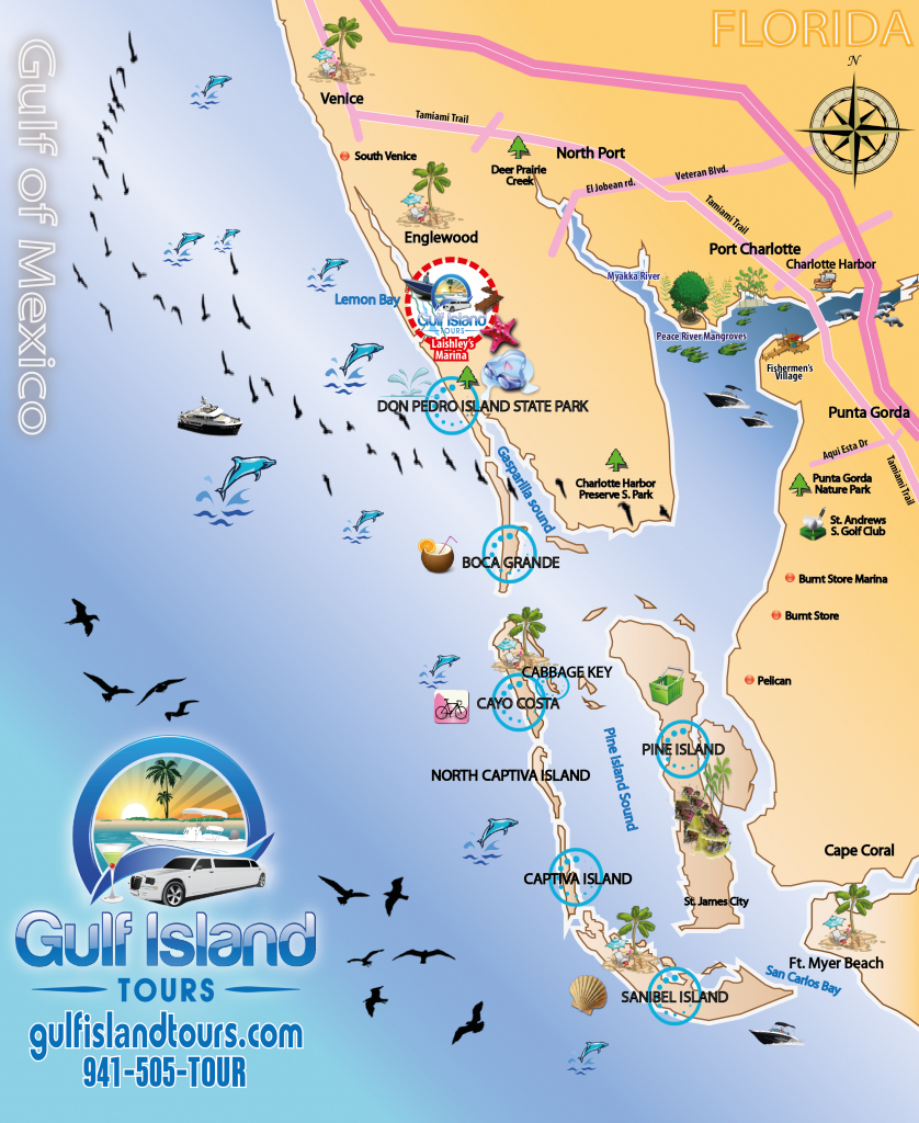 Map Of Florida Island   Woestenhoeve - Florida Gulf Islands Map