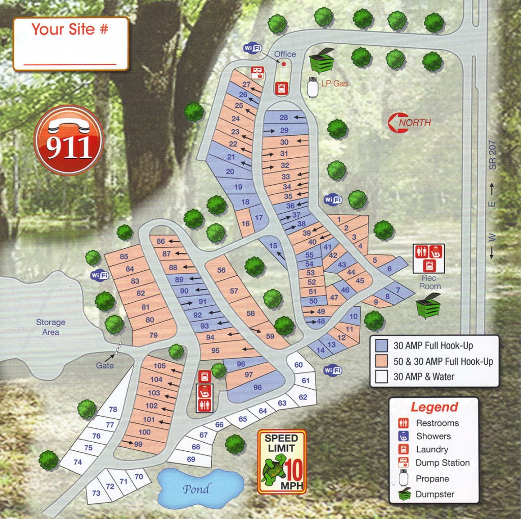 Map Of Florida Rv Parks | Download Them And Print - Map Of Rv Parks In Florida