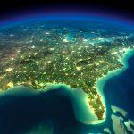 Map Of Florida   Satellite Map Of Florida