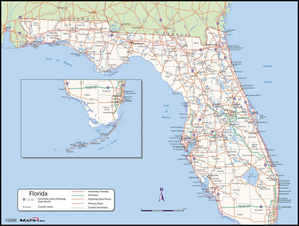 Map Of Florida State - Maps - Map Of S Florida