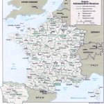 Map Of France : Departments Regions Cities - France Map - Printable Map Of France Regions