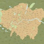 Map Of Greater London Districts And Boroughs   Maproom   Printable Map Of London Boroughs