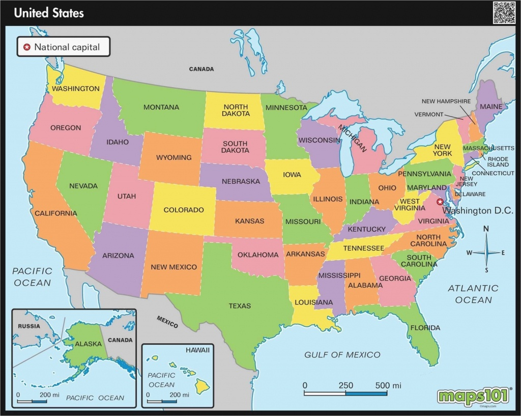 Map Of Hawaii And California United States Map With Mileage Scale - Hawaii California Map