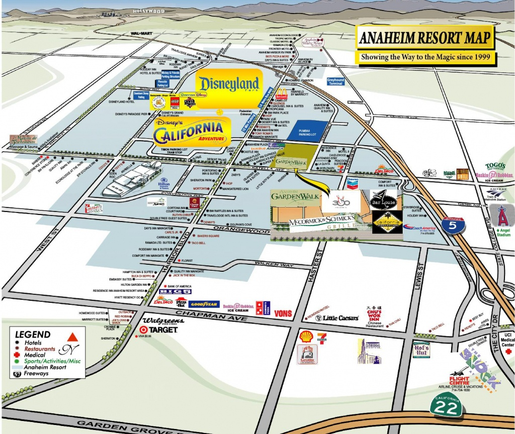 Map Of Hotelsdisneyland Ca | Download Them And Print - Map Of Hotels Around Disneyland California