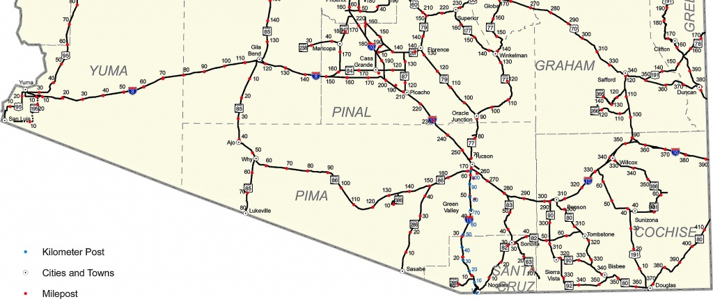 Map Of Interstate 40 And Travel Information | Download Free Map Of - Map Of I 40 In Texas