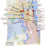 Map Of Jacksonville & Mayport, Florida | Military Town Advisor   Florida Navy Bases Map