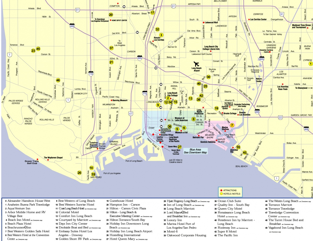 Map Of Long Beach Ca (94+ Images In Collection) Page 3 - Printable Map Of Long Beach Ca