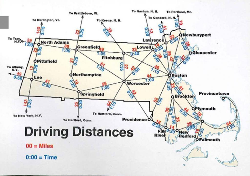 Map Of Massachusetts | Boston Map Pdf | Map Of Massachusetts Towns - Printable Map Of Massachusetts