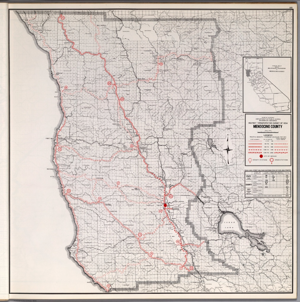 Map Of Mendocino County California And Travel Information | Download - Mendocino County California Map
