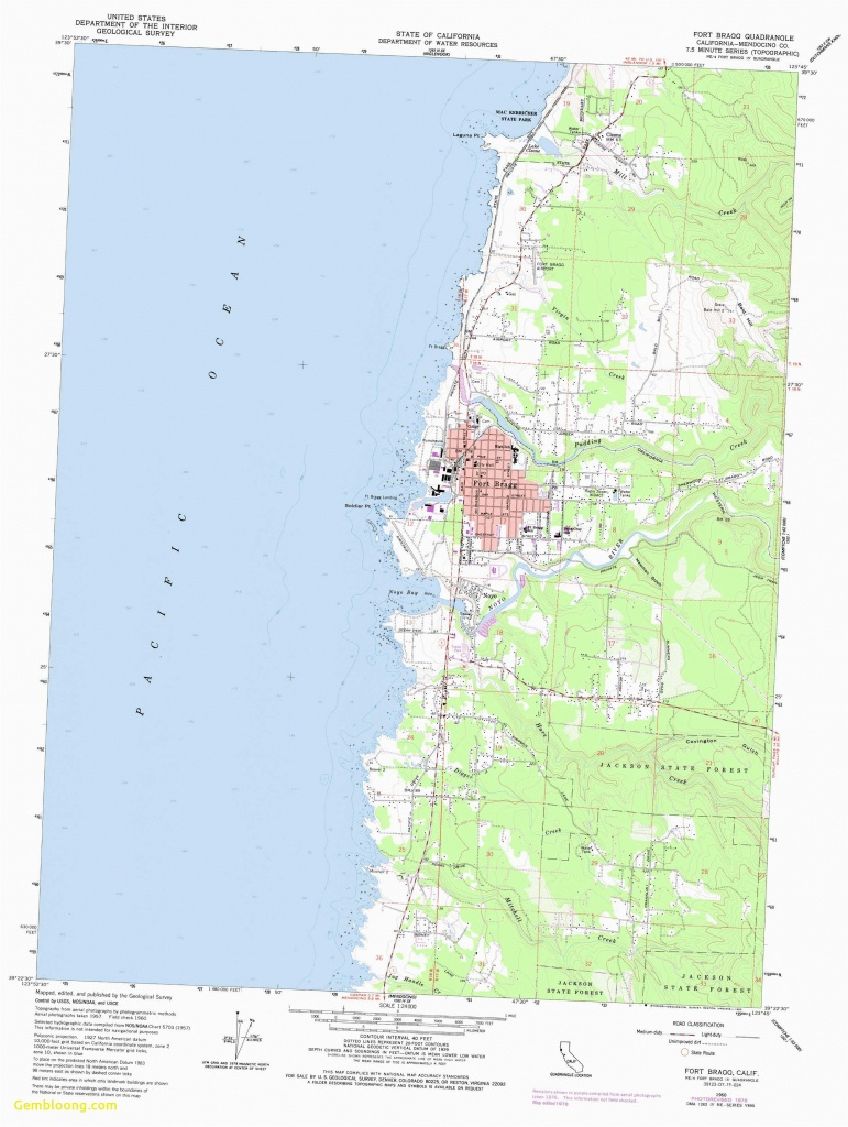 Map Of Mendocino County California | Secretmuseum - Mendocino County California Map