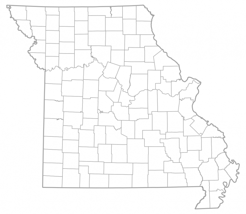 Map Of Missouri Counties | Sksinternational - Printable Blank Map Of Missouri