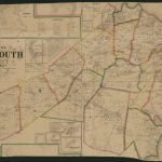 Map Of Monmouth County, New Jersey : From Actual Surveys | Library - Printable Map Of Monmouth County Nj