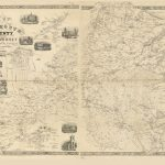 Map Of Monmouth County, New Jersey : From Original Surveys - Copy 1 - Printable Map Of Monmouth County Nj