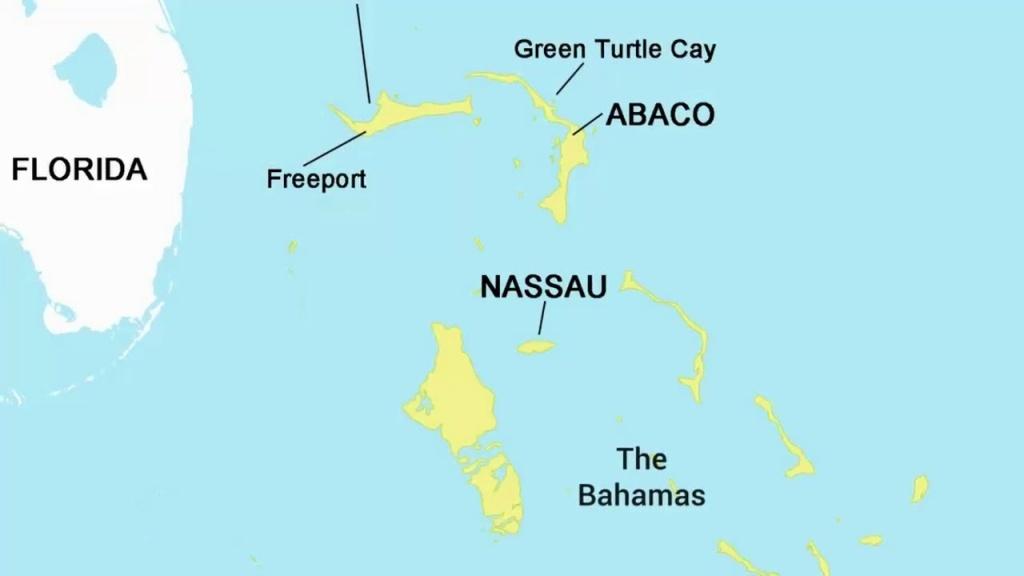 Map Of Nassau, Bahamas - Pros & Cons Of Nassau - Youtube - Map Of Florida And Freeport Bahamas