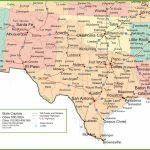 Map Of New Mexico, Oklahoma And Texas - Complete Map Of Texas