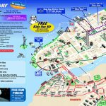 Map Of New York City Attractions Printable |  Tourist Map Of New   Printable Map Of New York City Landmarks