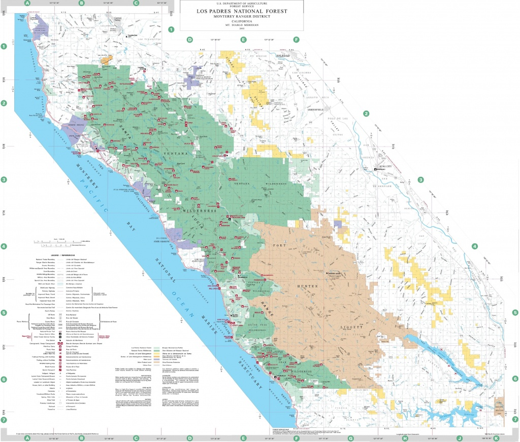 Map Of Northern California National Forests – Map Of Usa District - California National Forest Map