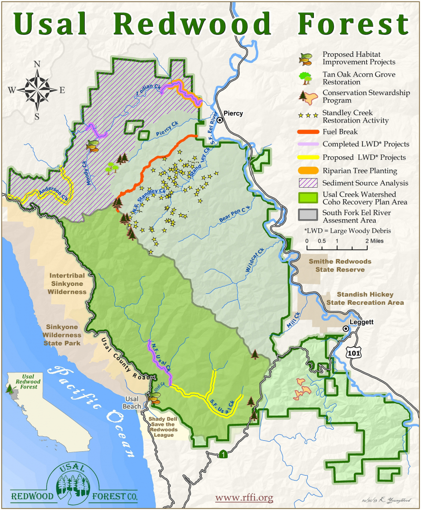 Map Of Northern California Redwood Forest – Map Of Usa District - Where Is The Redwood Forest In California On A Map