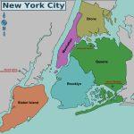 Map Of Nyc 5 Boroughs & Neighborhoods   Map Of The 5 Boroughs Printable