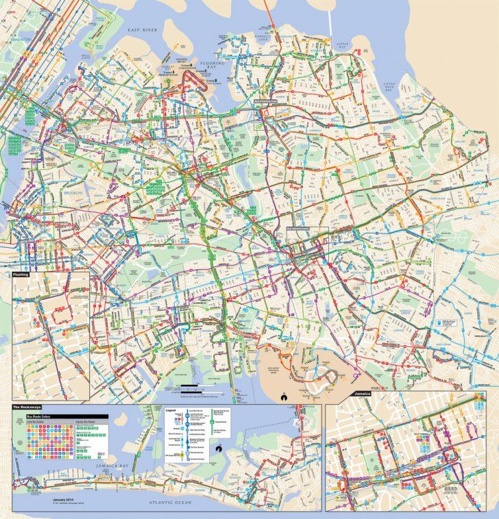 Printable Manhattan Bus Map