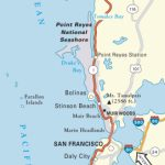 Map Of Oregon And California Coast | Travel Maps And Major Tourist - Map Of Oregon And California Coastline