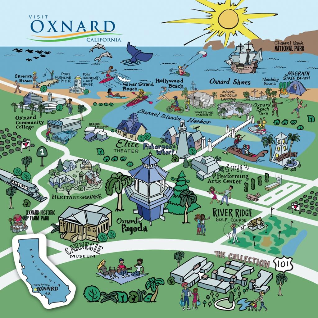 Map Of Oxnard - Find Your Way Around Oxnard And Ventura County - Oxnard California Map