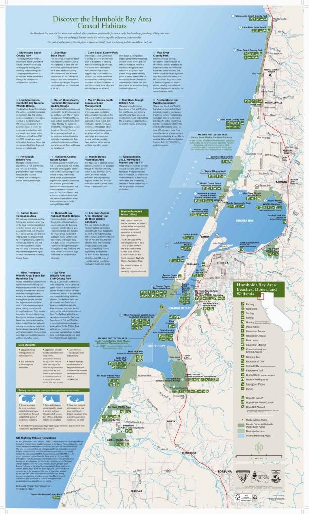 Map Of Pismo Beach California California Coast Campgrounds Map New - Map Of California Coast Beaches