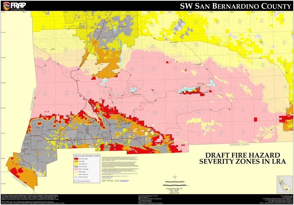 Map Of San Bernardino County Cities Fresh Cal Fire San Bernardino - Map Of Cities In San Bernardino County California