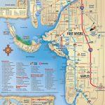 Map Of Sanibel Island Beaches |  Beach, Sanibel, Captiva, Naples   Map Of Fort Myers Florida Area