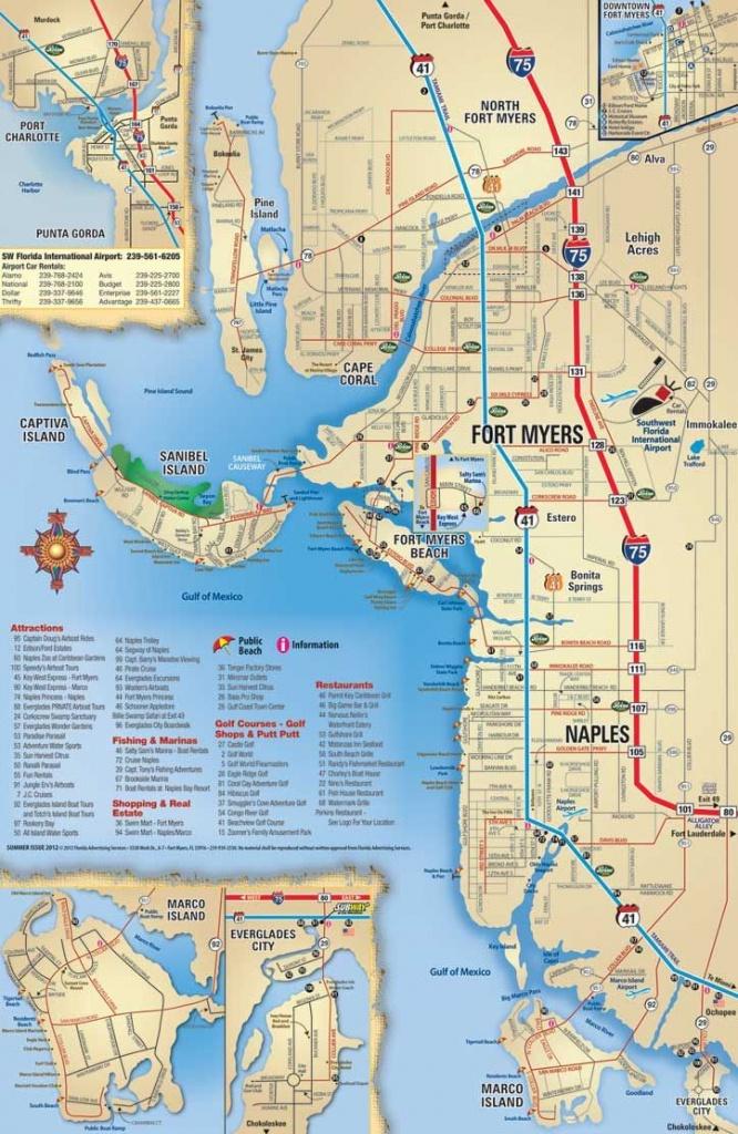 Map Of Southwest Florida Gulf Coast
