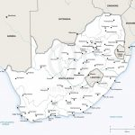 Map Of South Africa Political   Printable Map Of South Africa
