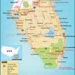 Map Of South Florida, South Florida Map   Map Of South Florida Beaches