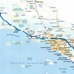 Map Of Southern California Coastal Towns Beautiful Road Map Within   Road Map Of California Coast