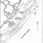 Map Of Study Area Of Modern Reefs Of The Florida Reef Tract   Florida Reef Map