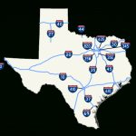Map Of Texas Interstates | Business Ideas 2013   Map Of Texas Highways And Interstates