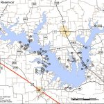 Map Of Texas Lakes And Reservoirs And Travel Information | Download   Texas Fishing Maps Free