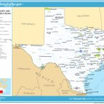 Map Of Texas (Map Federal Lands And Indian Reservations - Lands Of Texas Map