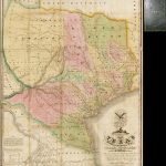 Map Of Texas With Parts Of The Adjoining States Compiledstephen   Stephen F Austin Map Of Texas