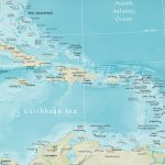 Map Of The Caribbean Region   Maps Of Caribbean Islands Printable