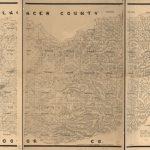 Map Of The County Of El Dorado, California : Compiled From The   El Dorado County California Parcel Maps