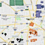 Map Of The Houston Hoods, Gangs Sets, And Ghetto Areas   Houston Texas Map