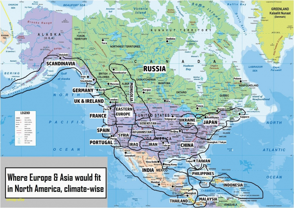 Map Of The North Carolina Coast   Secretmuseum - Clearwater Beach Florida Map