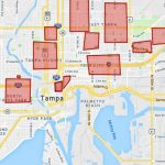 Map Of The Real Tampa Bay Hoods Of Tampa, St Pete, And More. - Map Of Tampa Florida And Surrounding Area