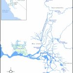 Map Of The Sacramento–San Joaquin Delta Displaying Locations Of The   California Delta Map Download