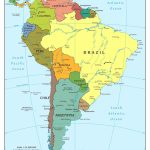 Map Of Us Physical Features Ah M New Latin America South Within   South America Physical Map Printable