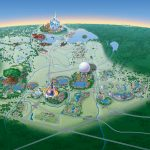 Map Of Walt Disney World Resort   Wdwinfo   Disney Resorts Florida Map