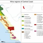 Map Reference. Central California Wineries Map – Reference In   Central California Wineries Map