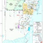 Map Showing Location Of The Study Area, Miami Dade County, Florida   Map Of Miami Florida And Surrounding Areas